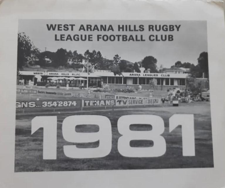 West Arana Hills 1981